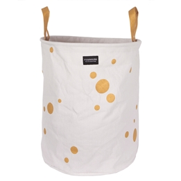 Roommate - Golden Dots Laundry Basket