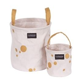 Roommate - Golden Dots Basket Set