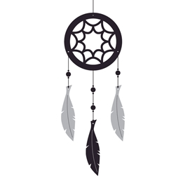 Roommate - Dreamcatcher Mobile - Svart