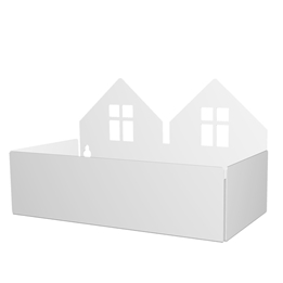 Roommate - Twin House Box - White