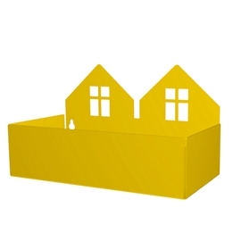 Roommate - Twin House Box - Yellow