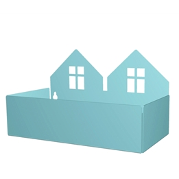 Roommate - Twin House Box - Pastel Blue