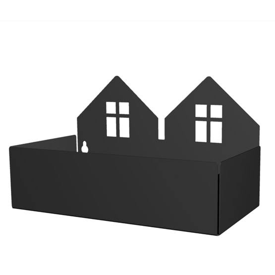 Roommate - Twin House Box - Black