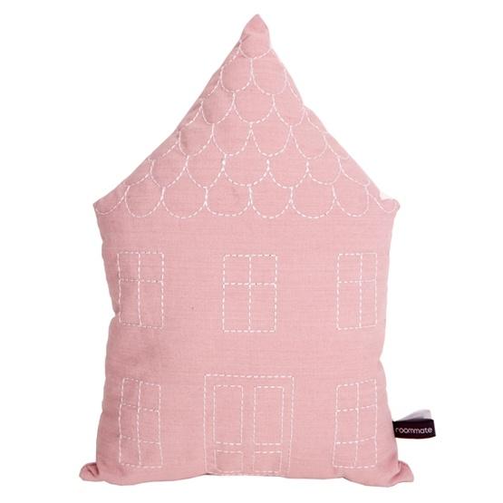 Roommate - House Cushion Rose