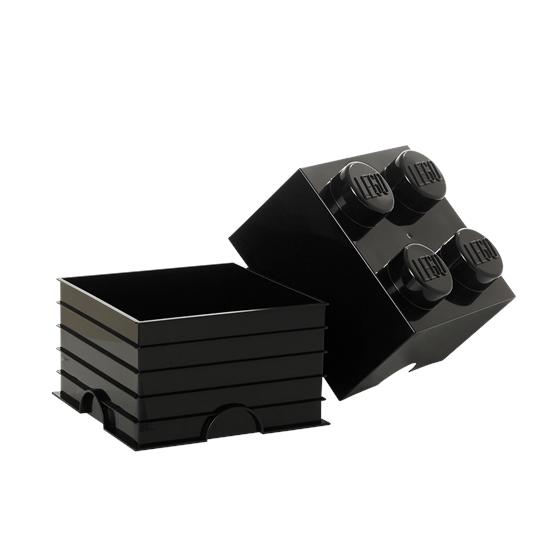 LEGO, Förvaringsbox 4, black