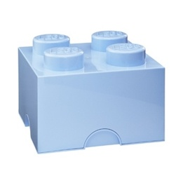 LEGO, Förvaringsbox 4, royal light blue