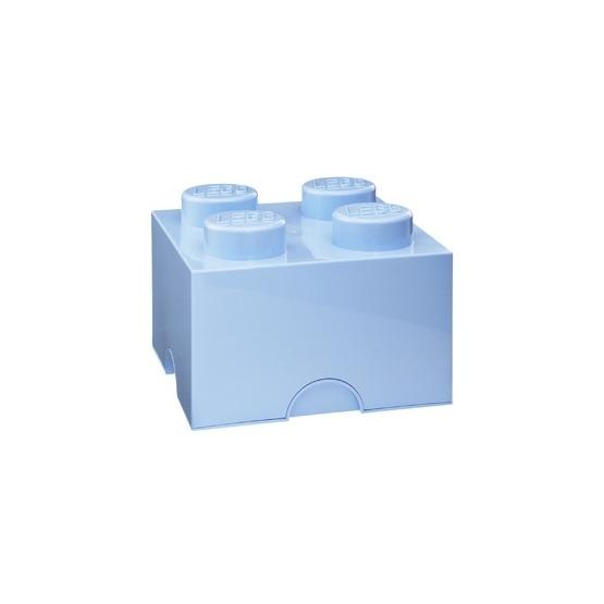 LEGO, Förvaringsbox 4, royal light blue