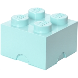 LEGO, Förvaringsbox 4, aqua light blue