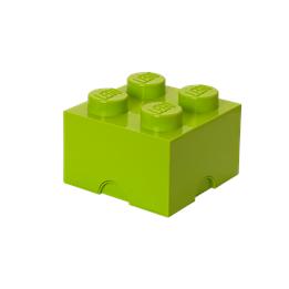 LEGO Förvaringslåda 4 (Ljusgrön)