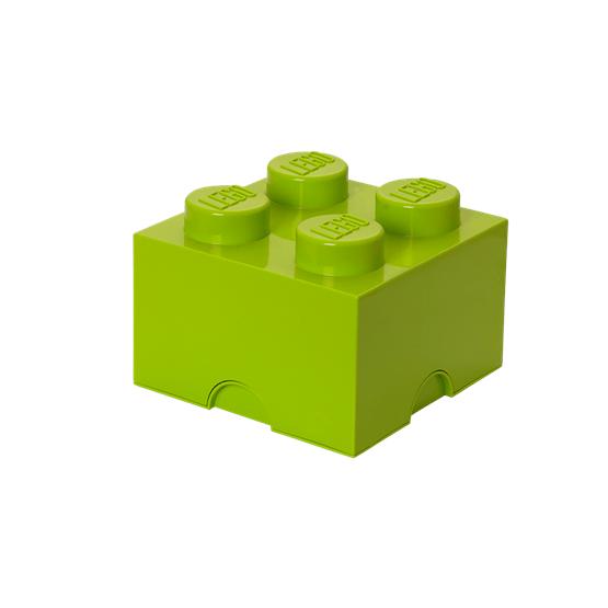 LEGO, Förvaringsbox 4, yellowish green