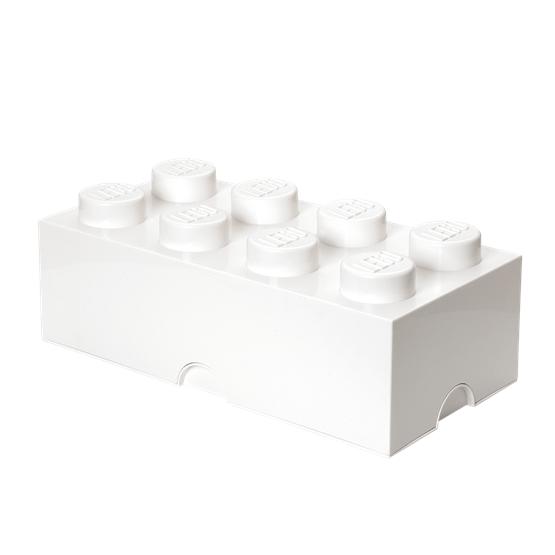 LEGO, Förvaringsbox 8, white