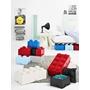 LEGO, Förvaringsbox 8, royal light blue