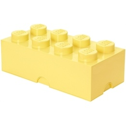 LEGO, Förvaringsbox 8, cool yellow