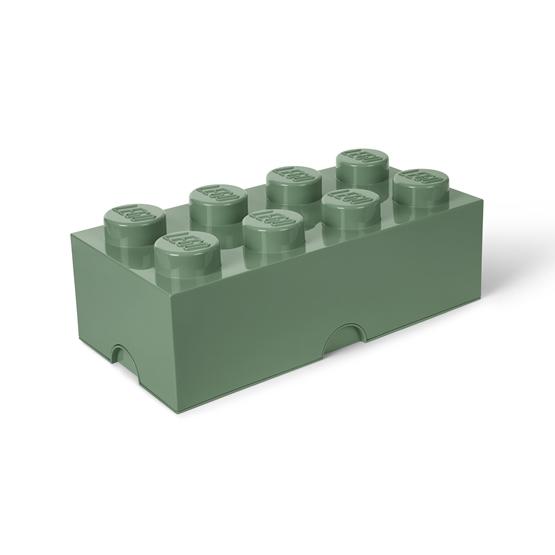 LEGO, Förvaringsbox 8, sand green