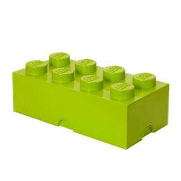 LEGO, Förvaringsbox 8, yellowish green