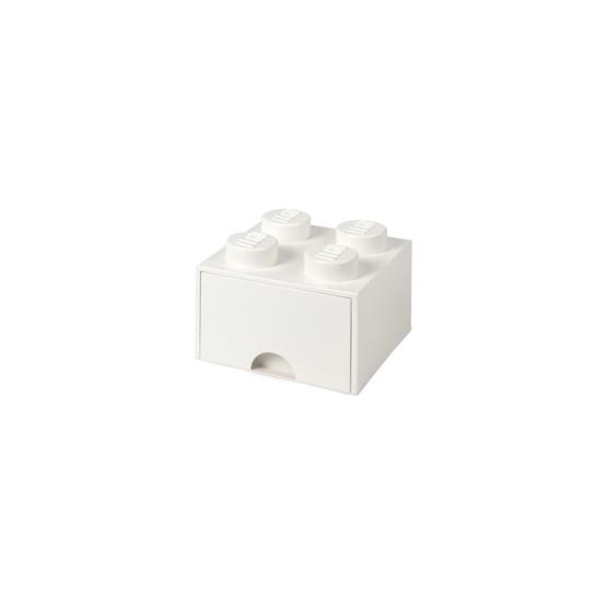 LEGO, Förvaringsbox 4 med lådor, white