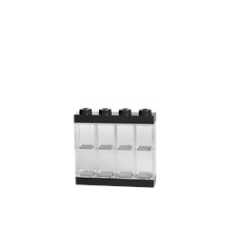 LEGO, Display case för 8 minifigurer, black