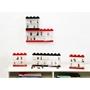 LEGO, Display case för 16 minifigurer, red