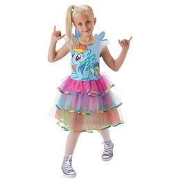 My Little Pony, Rainbow Dash klänning S 3-4 år