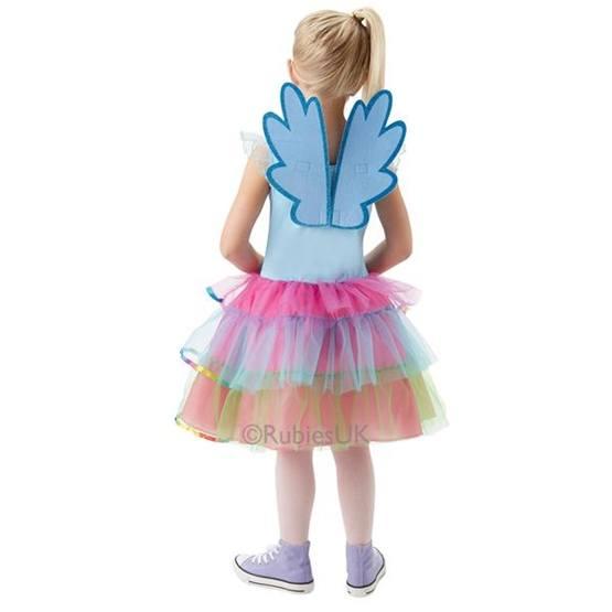 My Little Pony, Rainbow Dash klänning M 5-6 år