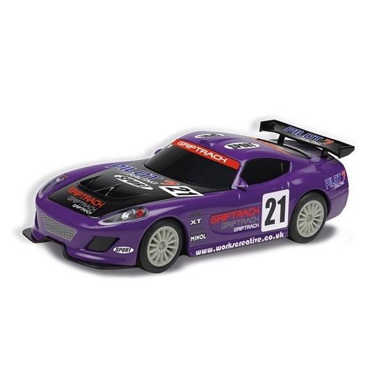 Scalextric, GT Lightning - Purple, 1:32 SR