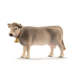 Schleich, 13874 Farm World - Braunvieh ko