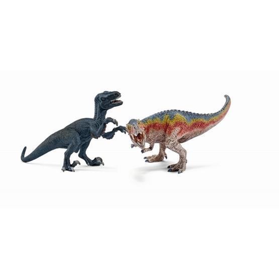 Schleich, 42216 T-Rex & Velocioraptor