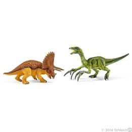 Schleich, 42217 Triceratops & Therizinosaurus