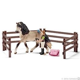 Schleich, 42270 Hästskötselsats Andalusier