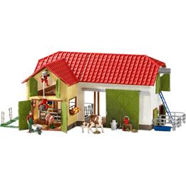 Schleich, 42333 Stor Bondgård med djur & tillbehör