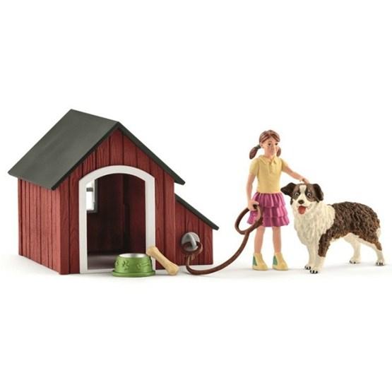 Schleich, 42376 Farm World - Hundkoja