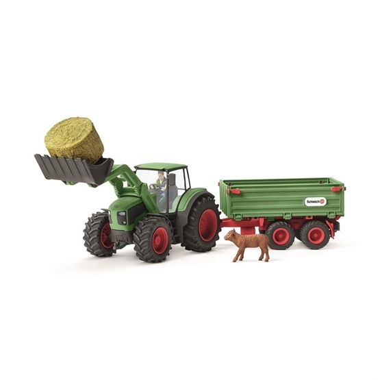 Schleich, 42379 Farm World - Traktor med trailer