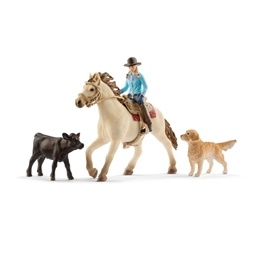 Schleich, Farm World - Western riding 42419