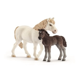 Schleich, 42423 Horse Club - Pony sto & föl