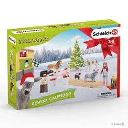 Schleich Farm World 2019 Adventskalender