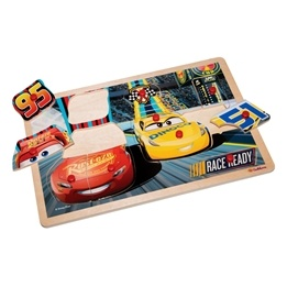 Disney Cars 3, Knoppussel - Race Ready 10-bitar