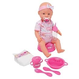 New Born Baby, Äta-väta-docka Flicka