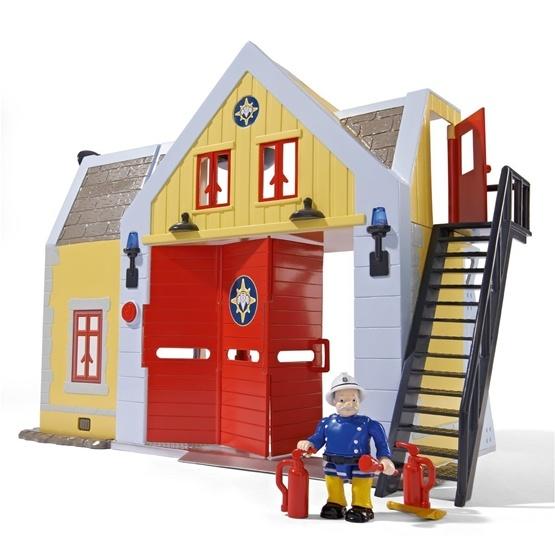 Fireman Sam, Brandstation med figur