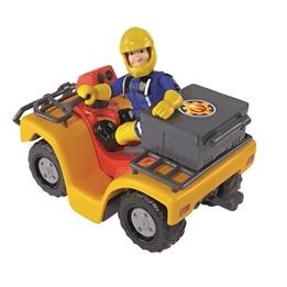 Fireman Sam, Fyrhjuling med figur