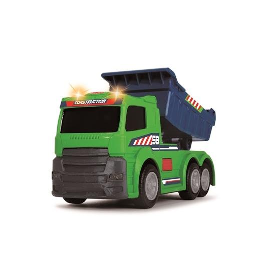 Dickie Toys, Dumper Ljus & Ljus 16 cm