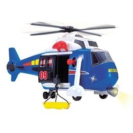 Dickie Toys, Räddningshelikopter Med Ljud & Ljus