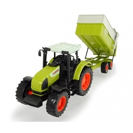 Dickie Toys, Claas Tractor & Trailer