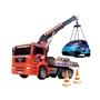 Dickie Toys, Kranbil med Lufttryck 31 cm