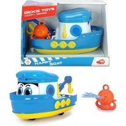 Dickie Toys Båt med kran och bläckfisk