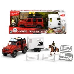 Dickie Toys, Playlife - Horse Trailer Set