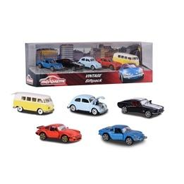 Majorette, Vintage Klassiska bilar 5-pack