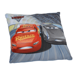 Disney Cars 3, Kudde 35x35 cm - Blixten & Jackson Storm