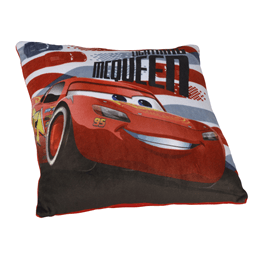 Disney Cars 3, Kudde 35x35 cm - Lightning McQueen