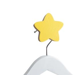 Knobbly, Väggkrok Stjärna Gul