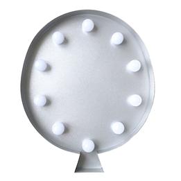 Marquee Light, LED-light Ballong Grå